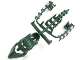 Part No: 53579  Name: Bionicle Piraka Spine Flexible with Mask and Arm Covers, Zaktan
