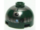Part No: 553pb007  Name: Brick, Round 2 x 2 Dome Top with Pearl Dark Gray Pattern (R4-P44)