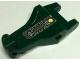 Part No: 6027pb01  Name: Alligator / Crocodile / Dragon Upper Jaw / Dinosaur Tongue with Circuitry Pattern (Sticker) - Set 8632