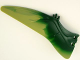 Part No: 98088pb02  Name: Animal, Body Part Dinosaur Wing Pteranodon - Left with Marbled Olive Green Edge Pattern