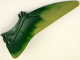 Part No: 98089pb02  Name: Animal, Body Part Dinosaur Wing Pteranodon - Right with Marbled Olive Green Edge Pattern