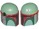 Part No: bb0826c01pb01  Name: Large Figure Head Modified SW Boba Fett Pattern