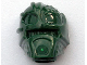 Part No: x1823  Name: Minifigure, Head Modified Bionicle Inika Toa Kongu Plain
