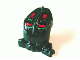 Part No: x1868px1  Name: Minifigure, Head Modified Bionicle Toa Mahri Kongu / Matoro with Red Eyes Pattern (Kongu)