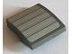 Part No: 15068pb151  Name: Slope, Curved 2 x 2 with Dark Bluish Gray Lines on Light Bluish Gray Background Pattern (Sticker) - Set 75060