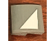 Part No: 15068pb174R  Name: Slope, Curved 2 x 2 with SW Light Bluish Gray Triangle Pattern Model Right Side (Sticker) - Set 75158