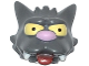 Part No: 15659pb01  Name: Minifigure, Head Modified Simpsons Scratchy