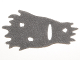 Part No: 22656  Name: Minifigure, Cape Cloth, Tattered with Holes, Fur Effect