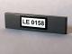 Part No: 2431pb060  Name: Tile 1 x 4 with 'LE 0158' Pattern (Sticker) - Set 10184