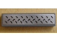 Part No: 2431pb125  Name: Tile 1 x 4 with Tread Plate Pattern (Sticker) - 8134