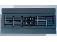 Part No: 2440pb021  Name: Hinge Panel 6 x 3 with SW Millennium Falcon Radar Pattern (Sticker) - Set 75105