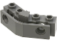 Part No: 2991  Name: Technic, Brick 1 x 2 - 1 x 2 Angled with Bumper Holder