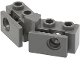 Part No: 2991b  Name: Technic, Brick 1 x 2 - 1 x 2 Angled with Bumper Holder, Open Front