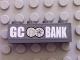 Part No: 3010pb082  Name: Brick 1 x 4 with 'GC BANK' and GC Bank Logo Pattern (Sticker) - Set 7781