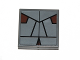Part No: 3068bpb0595  Name: Tile 2 x 2 with Groove with SW Sith Pattern (Sticker) - Set 7957