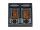 Part No: 3068bpb0596  Name: Tile 2 x 2 with Groove with SW Droid T7-O1 Panel Pattern