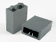 Part No: 3245b  Name: Brick 1 x 2 x 2 with Inside Axle Holder