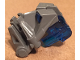 Part No: 32553c06  Name: Bionicle Head Connector Block 3 x 4 x 1 2/3 with Trans-Dark Blue Bionicle Head Connector Block Eye/Brain Stalk (32553 / 32554)