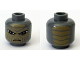 Part No: 3626bpb0499  Name: Minifigure, Head Alien with SW Shahan Alama Pattern - Blocked Open Stud