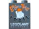 Part No: 4066pb358  Name: Duplo, Brick 1 x 2 x 2 with Halloween 2009 Brick or Treat Trail Pattern