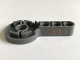 Part No: 44224pb01R  Name: Technic, Rotation Joint Disk with Pin Hole and 3L Liftarm Thick with 3 Orange Arrows Pattern Model Right Side (Sticker) - Set 7706