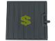 Part No: 4511pb01  Name: Door Sliding - Type 1 with Yellow Dollar Sign Pattern