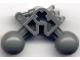 Part No: 47300  Name: Bionicle Ball Joint 3 x 3 x 2 90 Degree with 2 Ball Joint and Axle Hole