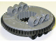 Part No: 48452cx1  Name: Technic, Turntable Large Type 2 with Black Outside Gear Section