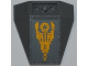 Part No: 4855pb001  Name: Wedge 4 x 4 Triple Inverted with Atlantis Logo and Stones Pattern (Sticker) - Set 8078