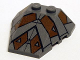 Part No: 48933pb009  Name: Wedge 4 x 4 Triple with Stud Notches with Sith Nightspeeder Pattern 2