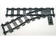 Part No: 53407  Name: Train, Track Plastic (RC Trains) Switch Point Left