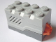Part No: 55206c02  Name: Electric, Sound Brick 2 x 4 x 2 with Light Bluish Gray Top and Roaring Animal Sound