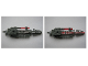 Part No: 55823c02  Name: Bionicle Weapon Inika Light-up Laser Drill (8729) with Bar