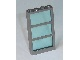 Part No: 57894c01  Name: Window 1 x 4 x 6 Frame with 3 Panes with Trans-Light Blue Glass (57894 / 57895)