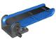 Part No: 58084c01  Name: Duplo Conveyor Belt Type 2 on 4 x 4 Base with Blue Sides and Black Belt