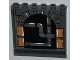 Part No: 59349pb062  Name: Panel 1 x 6 x 5 with Stone Arch and Pipes Pattern on Inside (Sticker) - Set 79103