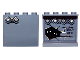 Part No: 60581pb022  Name: Panel 1 x 4 x 3 with Side Supports - Hollow Studs with Diamond Bricks on Outside, Bricks, Runes and Eyes on Inside Pattern (Stickers) - Set 9473