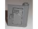Part No: 60657pb001  Name: Door 1 x 3 x 3 Right - (New Type) with 'LOCK' and 'UNLOCK' Handle Pattern (Sticker) - Set 8211