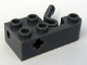 Part No: 61185c01  Name: Technic, Brick Modified 2 x 4 with 5 Studs, Axle Hole and Pin Launching Lever