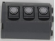 Part No: 6259pb023L  Name: Cylinder Half 2 x 4 x 4 with 3 Gas Tank Hatches Pattern Model Left Side (Sticker) - Set 7683