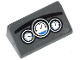 Part No: 85984pb066  Name: Slope 30 1 x 2 x 2/3 with 3 White and Blue Gauges on Dashboard Pattern (Sticker) - Set 60047