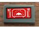 Part No: 85984pb218  Name: Slope 30 1 x 2 x 2/3 with Red Target Screen with '67' and '12' Pattern (Sticker) - Set 76127