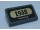 Part No: 85984pb251  Name: Slope 30 1 x 2 x 2/3 with '1932' Statue Plaque Pattern (Sticker) - Set 60207
