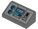 Part No: 85984pb257  Name: Slope 30 1 x 2 x 2/3 with 'CO2', Gauges and Lever Pattern (Sticker) - Set 70433