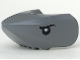 Part No: 87587pb01  Name: Shark Head with Rounded Nose with Black Eyes Pattern