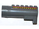 Part No: 87944pb04  Name: Air Blast Launcher Receiver (Racers) with Red Lines and Green and Lime Stripes Pattern on Both Sides (Stickers) - Set 7967