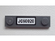 Part No: 92593pb019  Name: Plate, Modified 1 x 4 with 2 Studs with 'JC60020' License Plate Pattern (Sticker) - Set 60020