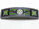 Part No: 93273pb083  Name: Slope, Curved 4 x 1 Double with Lime, Silver and Black Circuitry, Microchips and Transformer Pattern (Sticker) - Set 70165