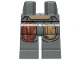 Part No: 970c00pb1020  Name: Hips and Legs with SW Mandalorian Armor, Reddish Brown and Tan Patches Pattern