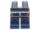Part No: 970c63pb03  Name: Hips and Dark Blue Legs with Silver Belt and Armor Pattern